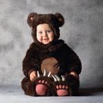 Костюм Медвежонок из искусственного меха 6-12, 12-18, 18-24 мес.