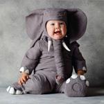 Комбинезон костюм Слоненок из хлопка на ребенка 12-18 мес.