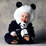 Карнавальный костюм для малышей 12-18 мес. медвежонок панда