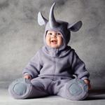 Костюм носорога для детских праздников 12-18 мес.