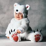 Костюм Полярный медвежонок меховой 6-12 мес., 12-18 мес., 2, 3, 4 года