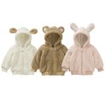 Куртка из флиса Медвежонок и Зайчик три размера до 2 лет