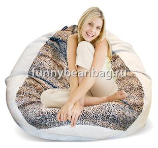 Кресло груша Snow leopard